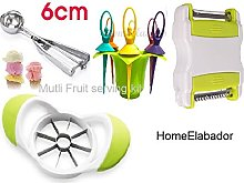 4-in-1 Apple Cutter, Fruit and Vegetable Peeler,
