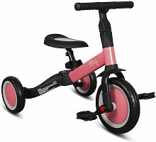 4 in 1 Balance Bike Fresa Pink - Pink - Billy
