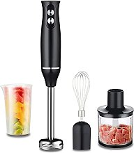 4-in-1 Hand Stick Blender Mixer Stainless Steel