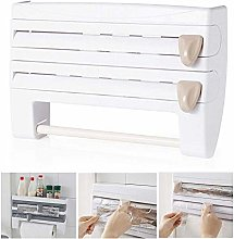 4 in 1 Kitchen Roll Dispensers,Wall Mounted