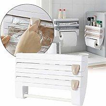 4 in 1 Kitchen Roll Holder Dispenser,Kitchen Roll