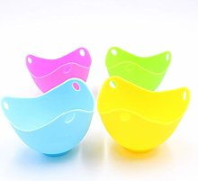 4-in-1 Silicone Egg Poaching Cup, Non-Stick