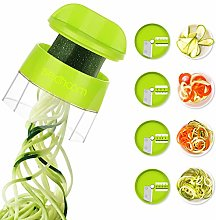 4 in 1 Spiralizer Hand Held Sedhoom Vegetable