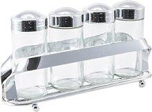 4-Jar Free-Standing Spice Rack Aulica