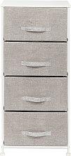 4 layer non woven storage cabinet dustproof closet