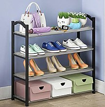 4-Layer Shoe Rack, Shoe Cabinet Storage Rack, can