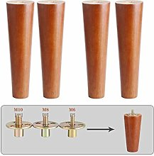 4 Legs for Wooden Furniture, Legs for Table M6 M8