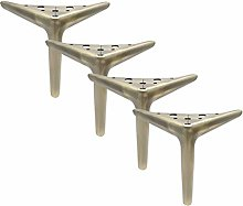 4 Metal Furniture Feet,Replacement Sofa