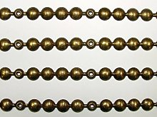 4 Meters Old Gold 9.5mm Head Upholstery Strip Studs