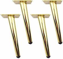 4 Oblique Cone Furniture Table Legs,Metal