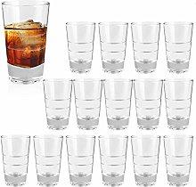 4 Ounce Heavy Base Shot Glass Set,QAPPDA Whisky