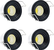 4 Pack 3W LED Small Recessed Downlights Ceiling