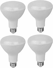 4-Pack BR30 5000K LED Light Bulbs,15W 1350LM with