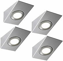 4 Pack | Bright 2.6W LED Under Cabinet Wedge Spot