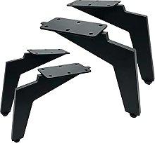 4 Pack Furniture Legs, Oblique Tapered Legs