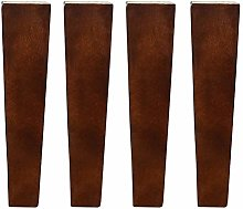 4 Pack Furniture Legs, Table Legs, Walnut Color