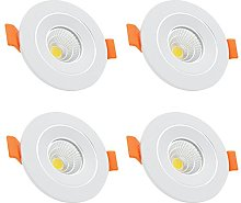 4-Pack LED Recessed Ceiling Downlight Spot Light