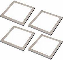 4 Pack | LED Under Cabinet Square Panel Spot Light