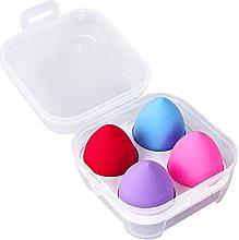 4 Pack Makeup Sponge Set,Makeup Puff Beauty Makeup