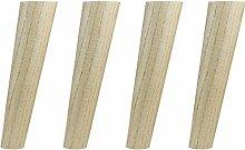 4 Pack Oblique Taper Solid Wood Ash Furniture