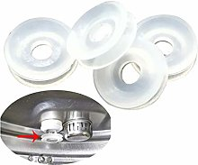 4 Pack Replacement Float Valve Gaskets, Universal