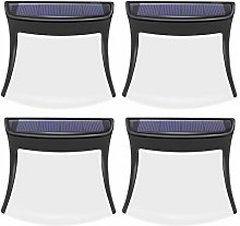 (4 Pack) Solar Lights Outdoor Garden, 1300mA