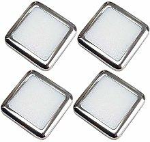 4 Pack | Square LED Mini Plinth Light & Driver Kit