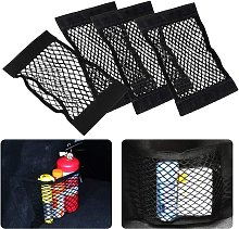 4 Pack Universal Box Car Storage Net for Utility