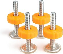4 Packs Pressure Mounted Baby Gates Threaded