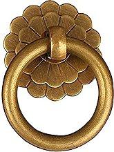 4 Pc Door Handles Knobs Antique Brass Kitchen