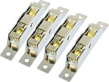 4 Pcs 20mm Diameter Double Roller Sliding Door