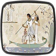 4 Pcs 30mm Ancient Egypt Banner Hieroglyph Symbol