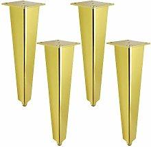 4 pcs Adjustable Furniture Legs Aluminum Alloy