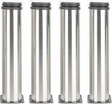 4 Pcs Adjustable Legs 200mm/ 250mm Height Cabinet