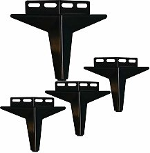 4 Pcs Cabinet Legs Metal, Heavy Iron Furniture