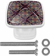 [4 PCS] Dresser Crystal Knobs - Drawer Knobs Pulls
