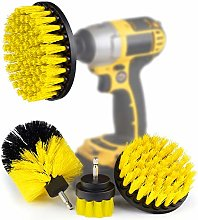 4 Pcs Drill Brush Scrub Brush Electric Drill
