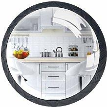 4 Pcs European Style Kitchen Crystal Class Cabinet
