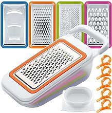 4 PCS Fruit Vegetable Slicer Set with Container,
