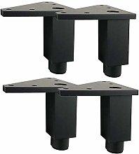 4 Pcs Furniture Legs, Aluminum Square Cabinet