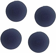 4 Pcs Hot Pot Holders Set, Cotton Thread Weave