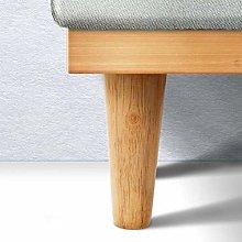 4 Pcs/lot Wooden Sofa Legs Feet Slanting Straight