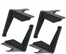 4 Pcs Metal Furniture Legs Table Legs,Triangle