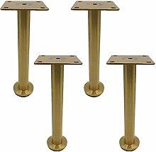 4 pcs Modern Furniture Sofa Legs,Metal Stainless