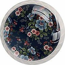 4 Pcs Piece Door Handle Drawer Handle Cabinet