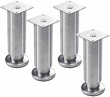 4 Pcs Stainless Steel Furniture Legs,Metal Cabinet