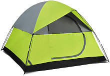 4 Person Pop Up Tent Family Camping Hiking Shelter