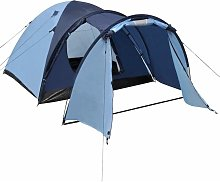 4-person Tent Blue QAH32248 - Hommoo