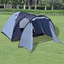 4-person Tent Blue VDTD32248 - Topdeal