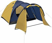 4 Person Tent Freeport Park Colour: Yellow